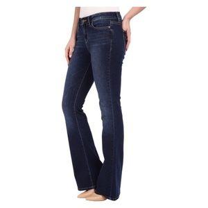 Calvin Klein Dark Wash Flair Jeans Size 6P
